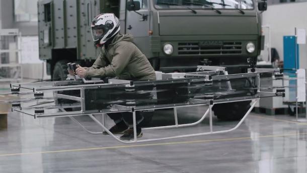 Kalaschnikow entwickelt ein Hoverbike