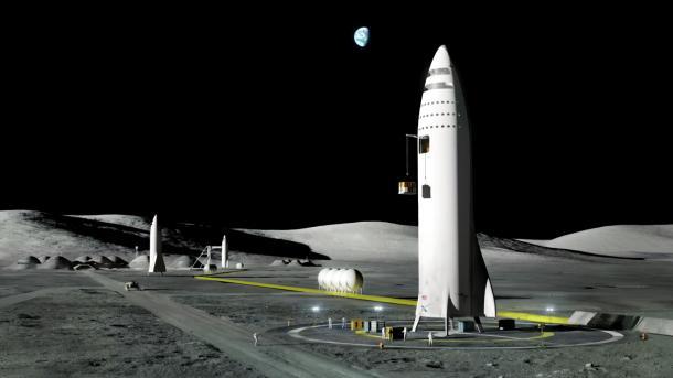 """SpaceX: Eine Rakete für alles – """"Big Fucking Rocket"""" für Verkehr auf Erde und im Sonnensystem"""