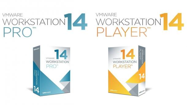 VMWare Workskation 14 Pro, Workskation 14 Player