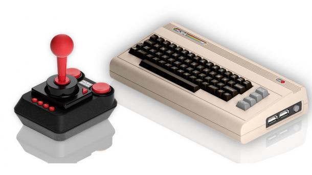 Retro Games: C64 erscheint als Mini-Konsole mit 64 Spielen