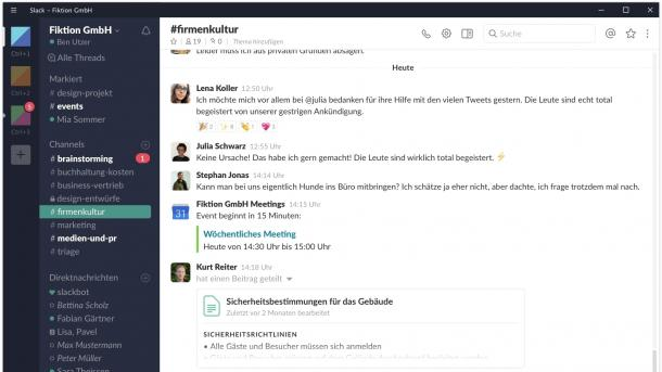 Büro-Messenger Slack will ab Mai 2018 in der EU hosten