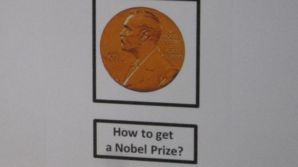 Impressionen aus Hannover zur Nobelpreisverleihung