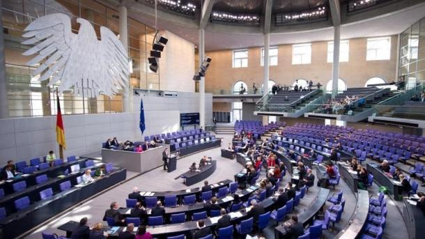 Sitzung des Bundestags