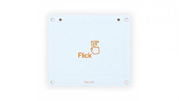 Ein weißes Board mit Aufschrift Flick