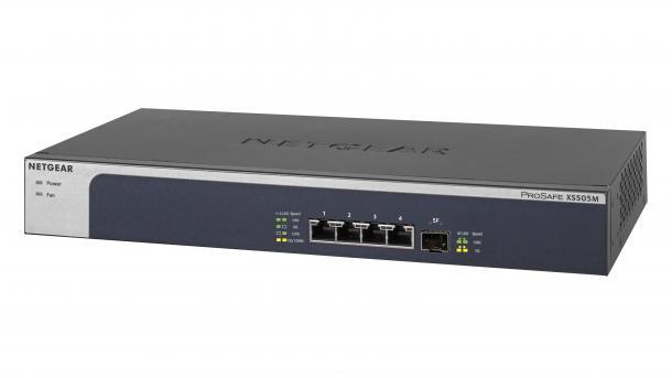 Neue 10-Gbit-Switches von Netgear