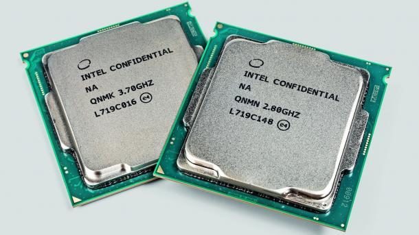Intel Core i7-8700K und Core i5-8400 Coffee Lake