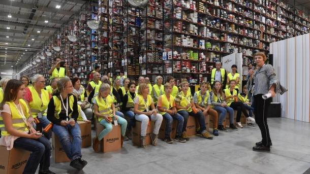 Amazon sucht 13.000 Saisonkräfte fürs Weihnachtsgeschäft