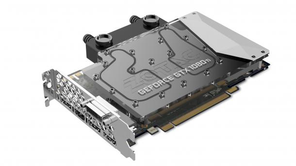 Zotac GeForce GTX 1080 Ti ArcticStorm Mini: Wassergekühlte High-End-Grafikkarte für 900 Euro