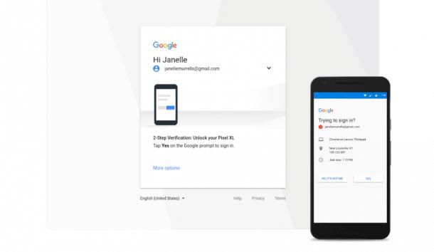 2-Schritt-Verifizierung: Google Prompt wird zum Standard
