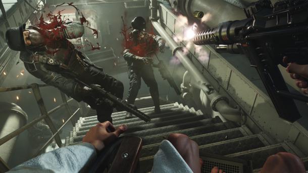 Wolfenstein 2: 1440p60 auf Playstation 4 Pro nach Day-One-Patch, Preload beginnt
