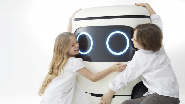 Konzept RoboCas: Hondas niedlicher, autonom rollender Kühlschrank