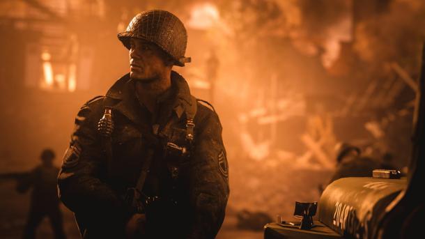 Call of Duty WW2 braucht 90 GByte Festplattenspeicher