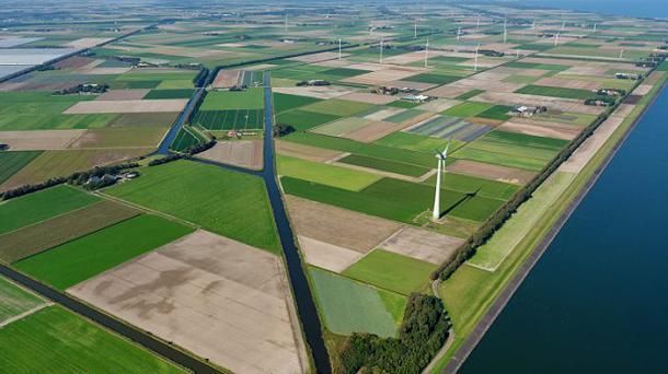 Microsoft sichert sich Windenergie aus niederländischer Großanlage