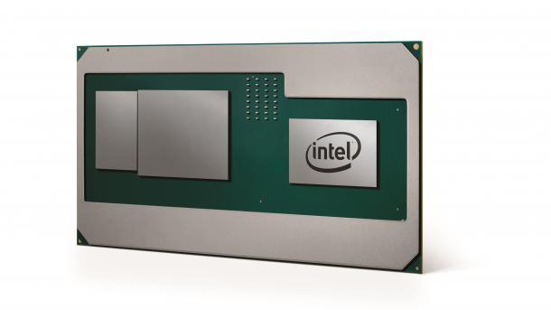 Intel kündigt Hauptprozessor mit integrierter AMD-Radeon-Grafik und HBM2 an