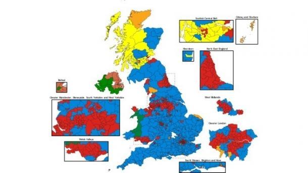 Studie: Twitter-Aktivitäten der Kandidaten hatten messbare Auswirkungen auf britisches Wahlergebnis