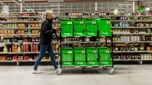 Amazon Fresh startet in München