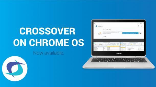 CrossOver macht Windows-Programme unter Chrome OS lauffähig