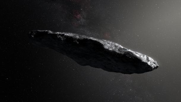 Erster entdeckter interstellarer Asteroid hat außergewöhnliche Form