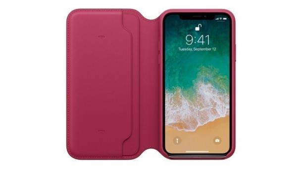 Apples iPhone-X-Lederhülle beeinträchtigt Telefonate