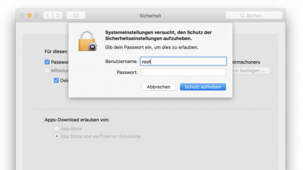 root-Lücke in macOS: Apple hatte mehr Zeit zum Patchen als gedacht