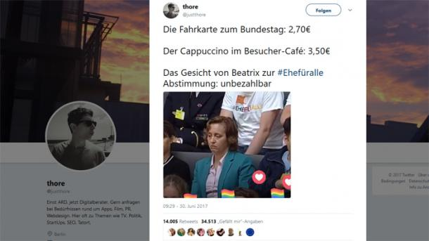 Enttäuschte AfD-Politikerin sorgte für erfolgreichsten deutschen Tweet 2017
