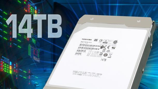 Toshiba bringt 14-TByte-Platte mit PMR-Aufzeichnung