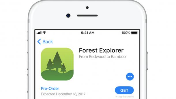 Vorbestellungen App Store