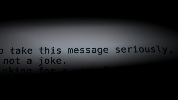 Bei E-Mail Mord: Mail-Erpresser drohen mit Mordanschlag