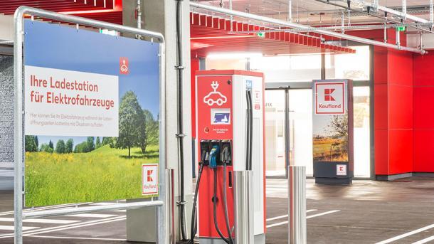 Elektroautos: Kaufland will 100 Schnellladestationen aufstellen