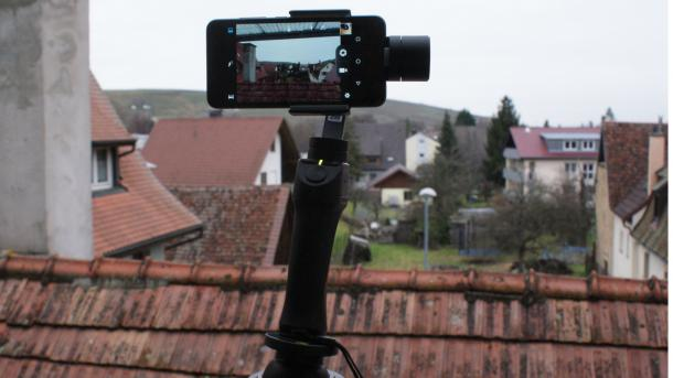 Hands-On: Smartphone-Gimbal Freevision Vilta-M