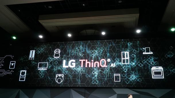 LG auf der CES: Künstliche Intelligenz, neue TV-Prozessoren, schweigende Roboter