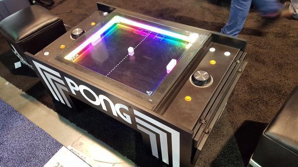 Atari Pong in mechanisch: Magnete machens möglich