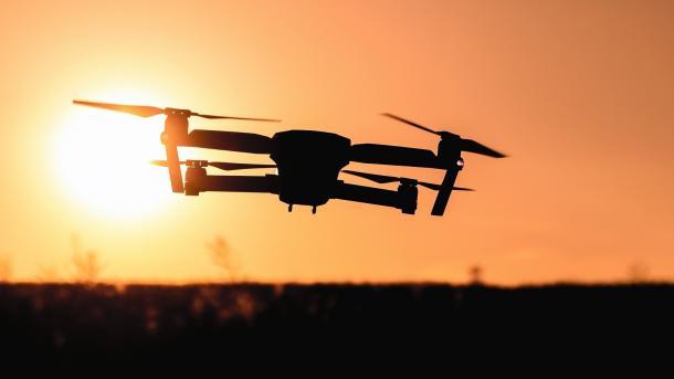 88 Mal Drohnen in der Nähe von Flugzeugen gesichtet