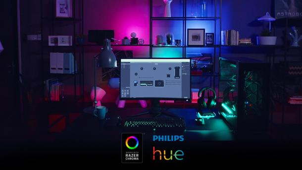 Philips Hue Lampen : Philips und razer machen hue lampen zur gaming beleuchtung heise