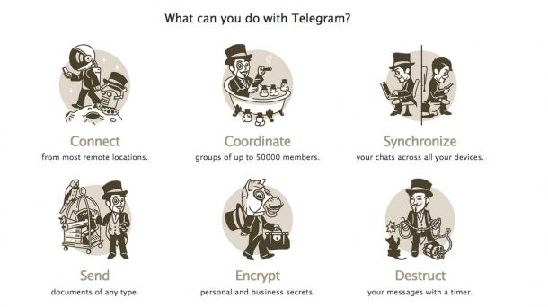 Iran gibt Kommunikationsdienst Telegram wieder frei