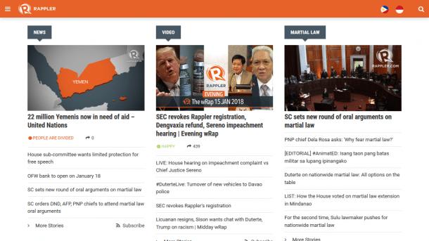Philippinen: Regierungskritisches Nachrichtenportal soll Lizenz verlieren