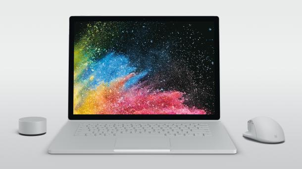 Microsoft Surface Book 2: Jetzt auch mit 15-Zoll-Display ab 2800 Euro