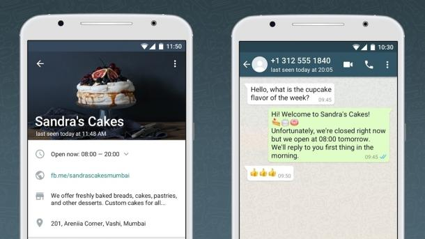 WhatsApp Business: Messenger für Firmenkontakt mit Kunden