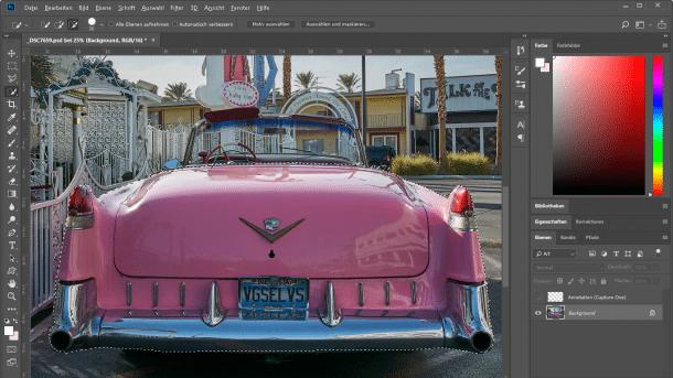 Photoshop CC 19.1 unterstützt hochauflösende Monitore