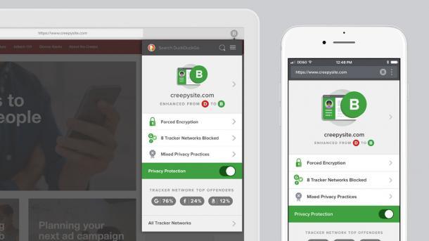 DuckDuckGo überarbeitet Apps und Browser-Erweiterungen