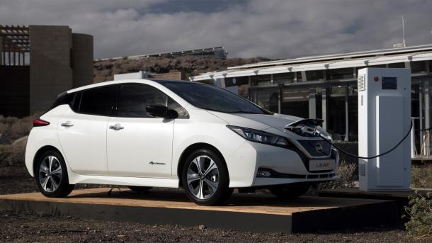 Der neue Nissan Leaf in einer ersten Probefahrt