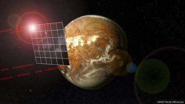 In 100 Jahren zu Alpha Centauri: Konzept für Sonde, die am Ziel abbremst