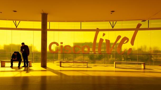 Showfloor der Cisco Live: Netzwerkgeräte und ihr Management überwachen