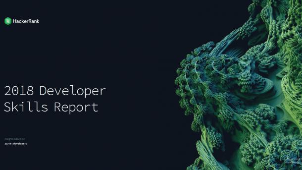 2018 Developer Skill Reports -- Entwickler, wer sie sind und was sie können