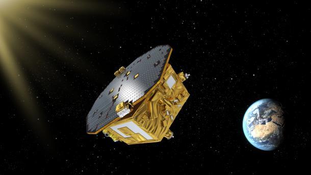 Suche nach Gravitationswellen: LISA Pathfinder noch genauer als gedacht