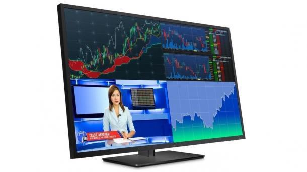 Vier 4K-Displays von HP: 43 Zoll und 10 Bit für unter 1000 Euro