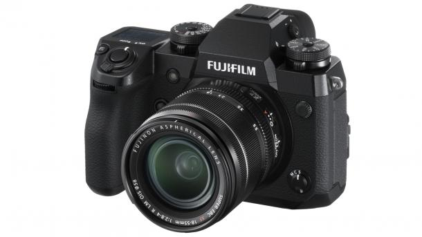 Fujifilm zeigt neues APS-C-Flaggschiff X-H1 mit kamerainternem Bildstabilisator