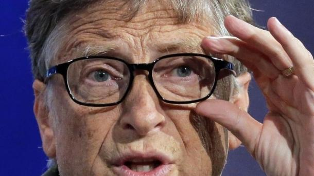 Wohltäter Bill Gates