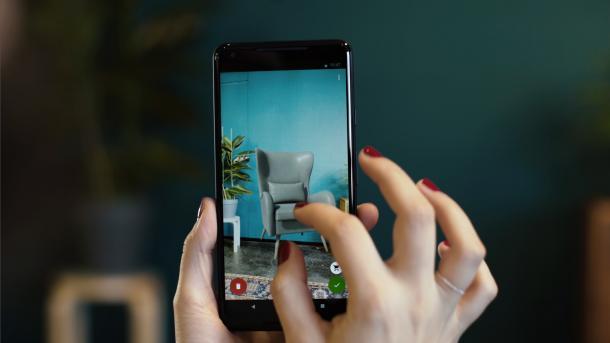 Google ARCore 1.0: Realistische Augmented Reality künftig auf 13 Android-Smartphones
