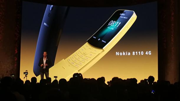 Noch ein Klassiker: HMD legt das Nokia 8810 neu auf